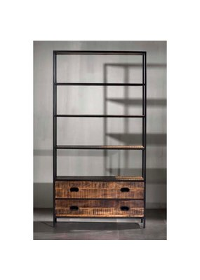 "Milano 2 Drawer 43"" Bookshelf"