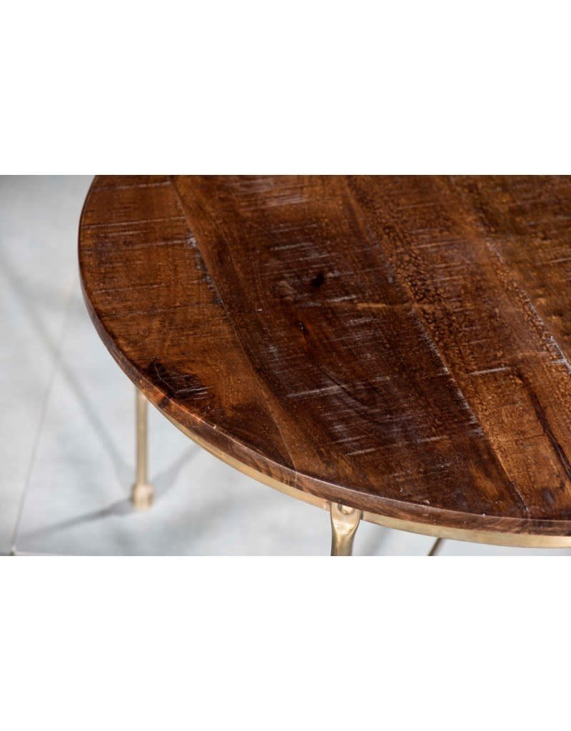 Villa 2 Round Cocktail Table with X Base (99195176)