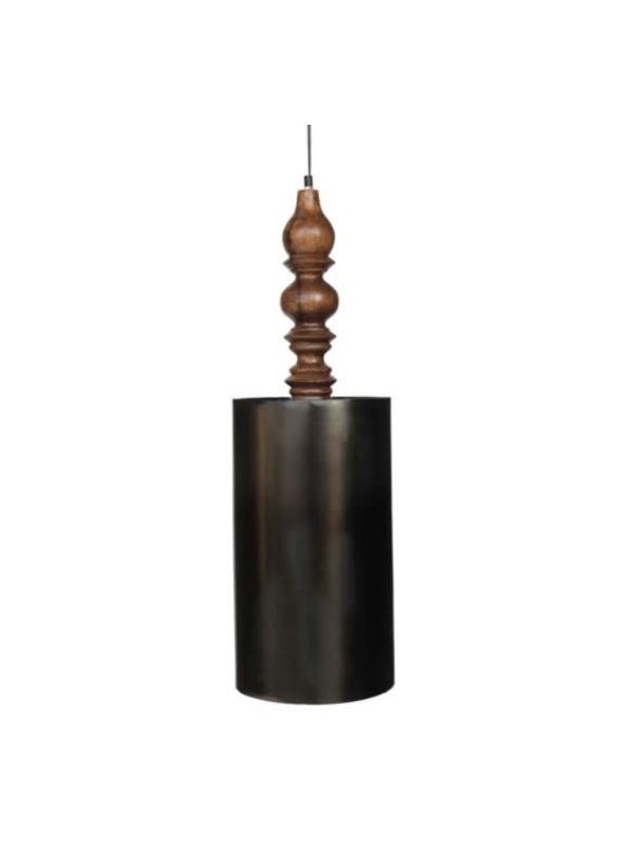 Lumi Black Zinc Pendant