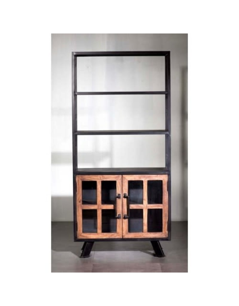 Villa 2 Roma Triple Shelf Double Cabinet Bookshelf (10185873)