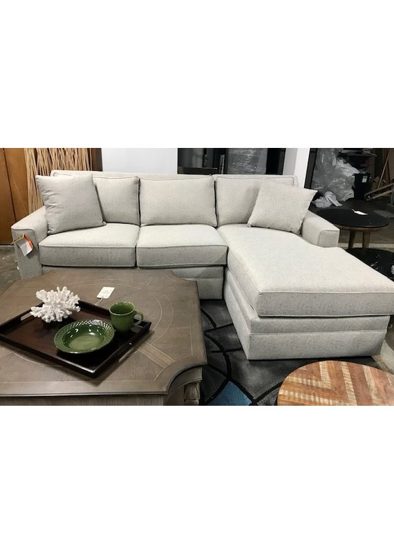 Stone & Leigh Riley Sectional Chofa Right Arm Chaise (Turbo Ash)