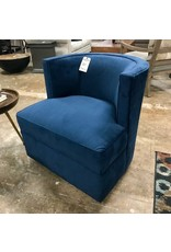 Stone & Leigh Stone & Leigh Olivia Swivel Chair (1936-800) in Blue (6060-49)