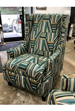 Furnish This Furnish This Soca Wingback Chairs in Carnival Evergreen
