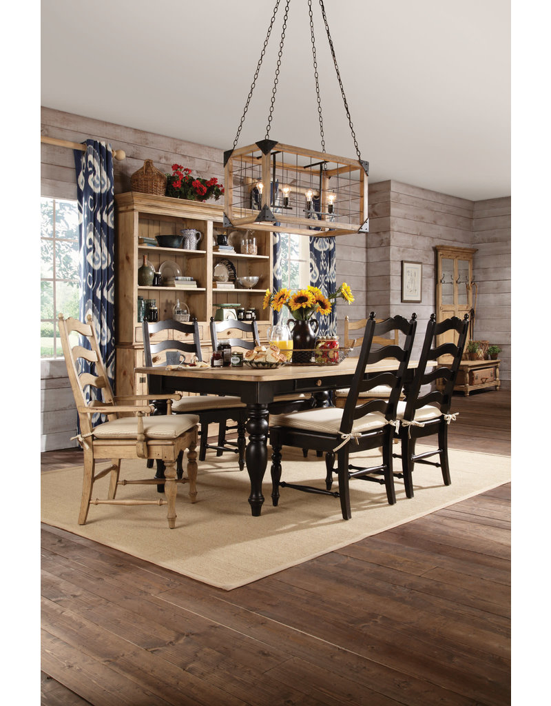 Kincaid Kincaid Homecoming Pine Farmhouse leg table in black (33-056B)