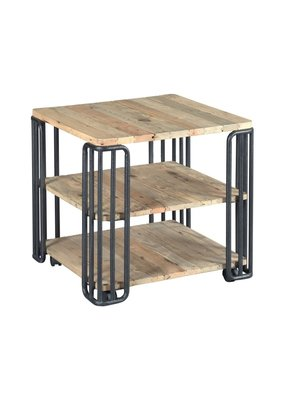 Hammary Junction Plank End Table