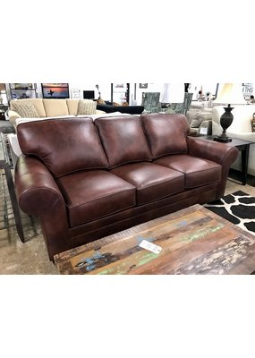 Stone & Leigh Zachary Leather Sleeper Sofa