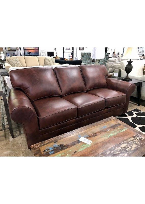 Stone & Leigh Zachary Leather Sleeper Sofa