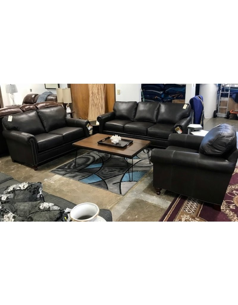 Stone & Leigh Stone & Leigh Harrison Leather Loveseat (L6751-1Q5) in 17-89