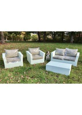 Pasha Home Dale Outdoor 4pc Lounge Set
