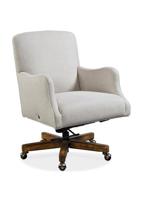 Binx Upholstered Executive Chair (Chateau Linen)