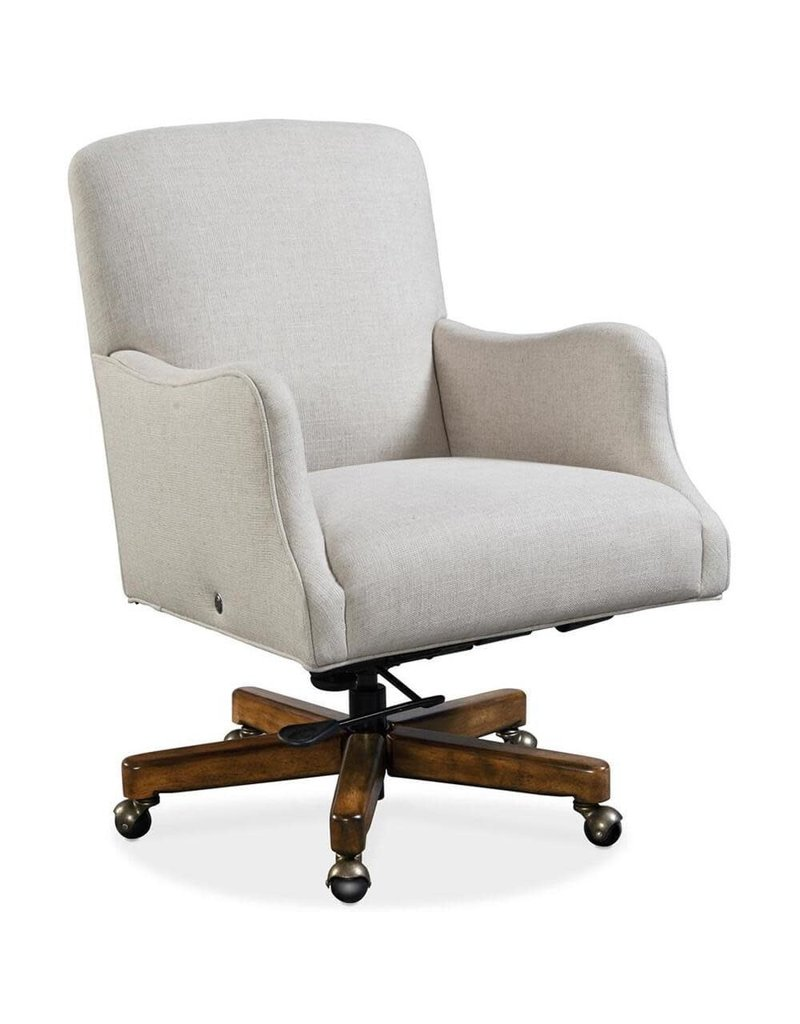 Hooker Furniture Binx Upholstered Executive Chair (EC506-HT-080) in Chateau Linen