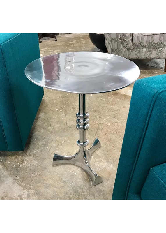 Aluminum Round End Table