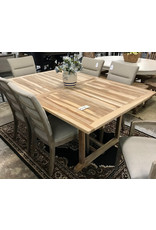 Pasha Home Pasha Home Teak Rectangular Butterfly Leaf Dining Table