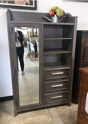 Universal Serendipity Armoire (Gray)