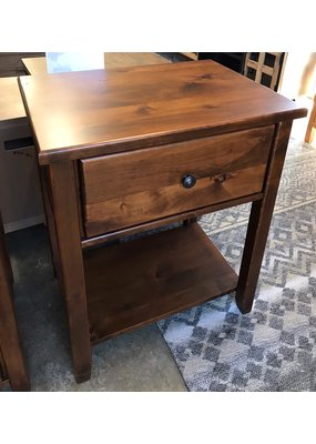 Archbold Furniture Fulton 1 Drawer Nightstand  (Vintage Cherry)