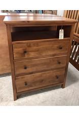 Archbold Furniture Archbold Furniture Heritage (Antique Cherry) 3 Drawer All Purpose Chest - 1 Deep Drawer (6203-A)