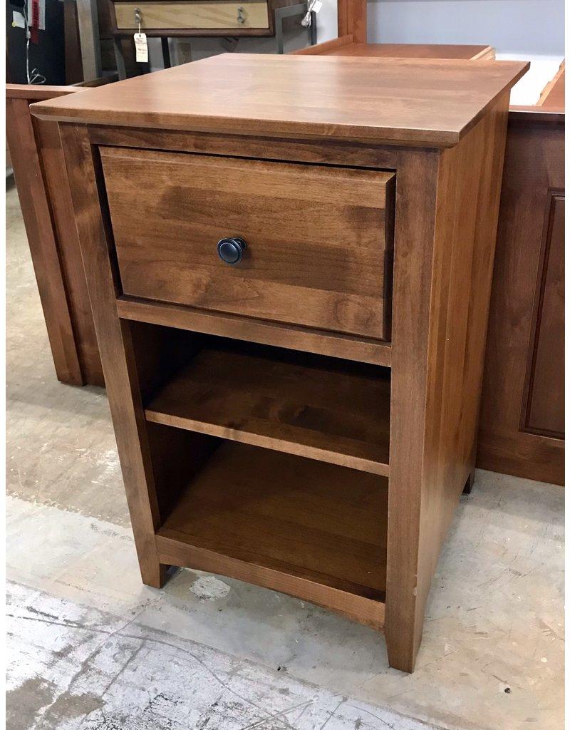 Archbold Furniture Archbold Furniture Shaker (Tuscan Brown) 1 Drawer Nightstand (6141X-T)