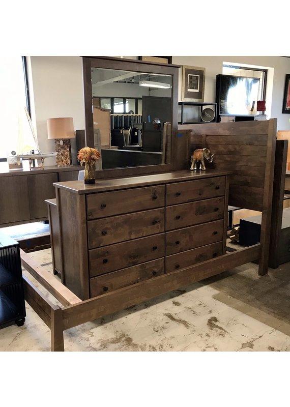 Archbold Furniture Fulton 7pc Bedroom Set (Flagstone Gray)