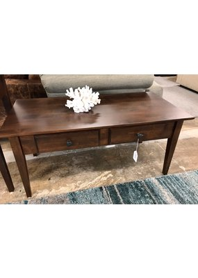 Archbold Furniture Alder Coffee Table (Brown Mahogany)