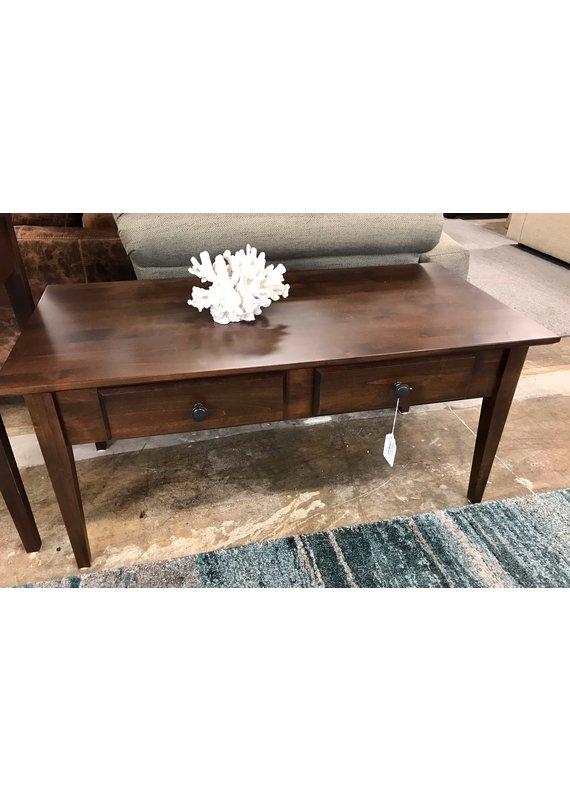 Archbold Furniture Alder Coffee Table (Brown Mahogany)