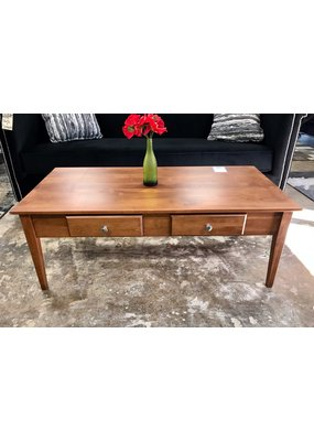 Archbold Furniture Alder Coffee Table - Large (Golden Pecan)