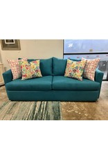 Piedmont Furniture McKenzie (9100) Sofa in Jennings Teal
