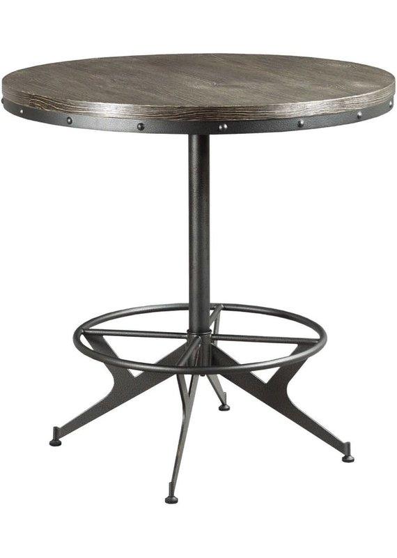 Hammary Hidden Treasures Round Bar Table
