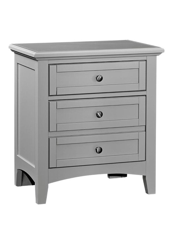 Vaughan Bassett Bonanza 2-Drawer Nightstand (Gray)