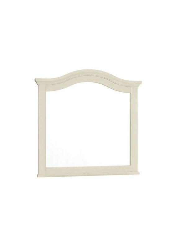 Vaughan Bassett Casual Retreat Landscape Mirror (Shell White)