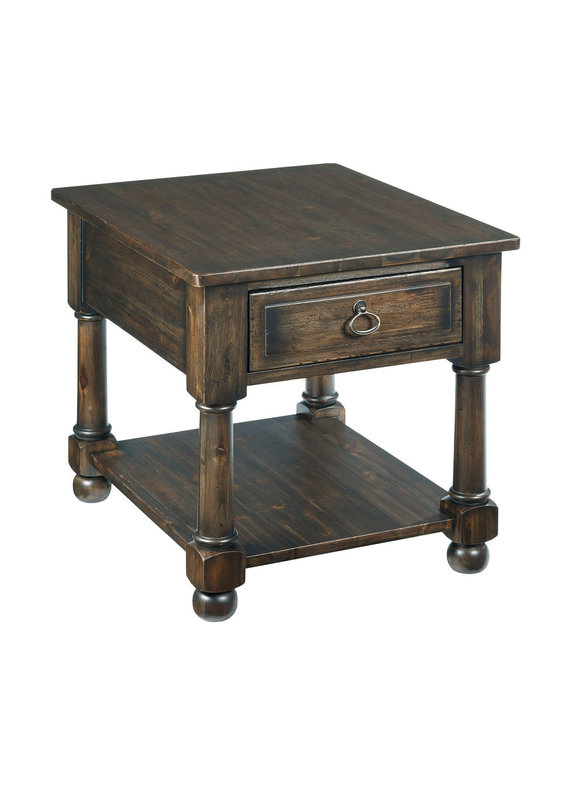 Kincaid Wildfire Drawer End Table