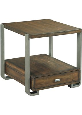 Hammary Bryson Rectangular Drawer End Table