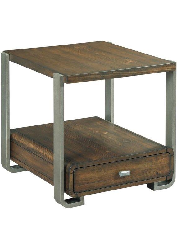 Hammary Bryson Rectangular Drawer End Table