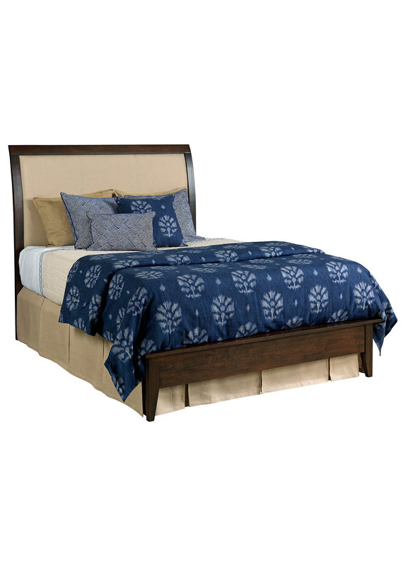 Kincaid Gatherings Meridian Upholstered Queen Bed (Molasses)