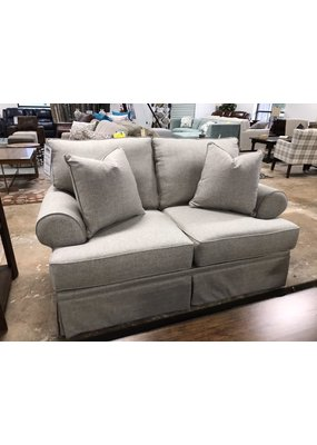 Stone & Leigh Emily Loveseat in Heathered Gray
