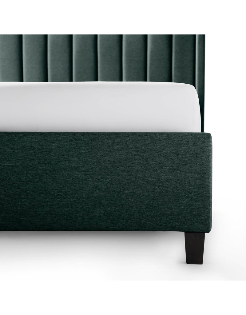 Malouf Malouf Blackwell Complete Upholstered Bed