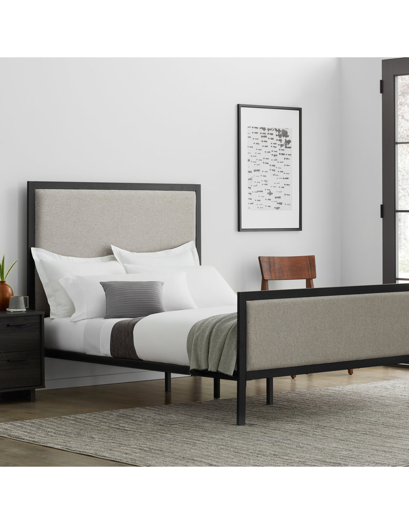Malouf Malouf Clarke Complete Upholstered Bed