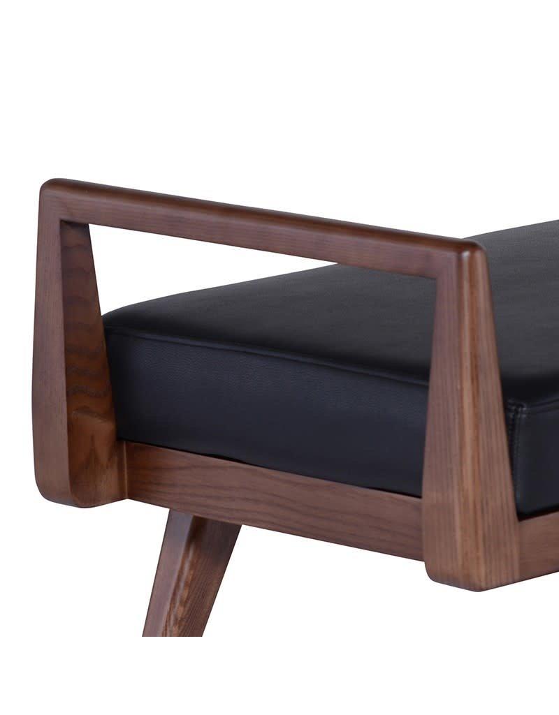 Nuevo Nuevo Ava Bench (Black with Walnut) (HGYU225)