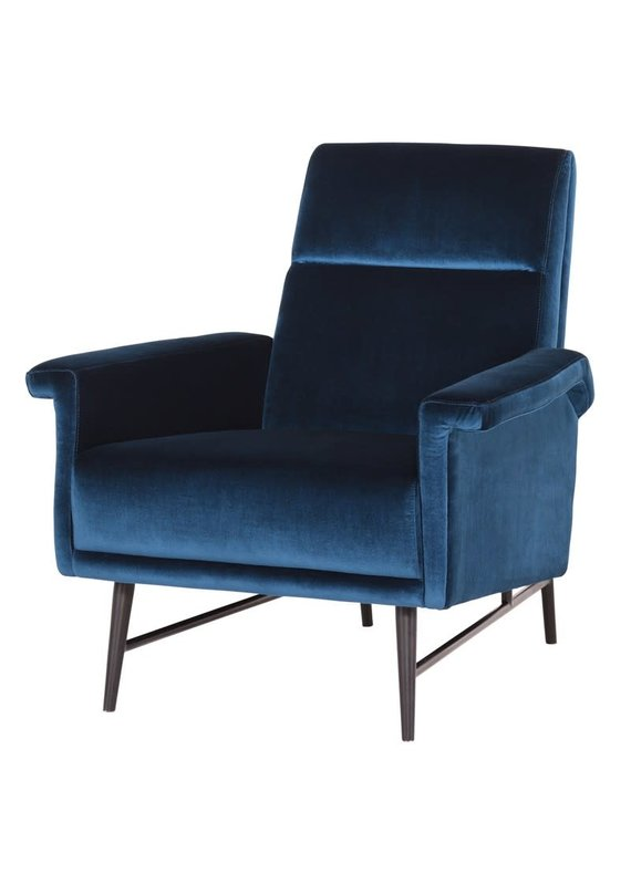 Nuevo Mathise Occasional Chair (Midnight Blue)