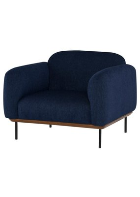 Nuevo Benson Occasional Chair (True Blue)