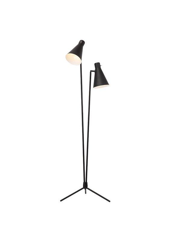 Nuevo Thom Black Floor Lamp