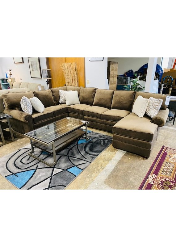 Kincaid Custom Select Sectional in Jasper Java