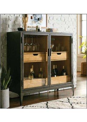 Hammary Hidden Treasures Metal Hall Cabinet/Bar