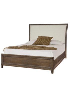 American Drew Park Studio Queen Upholstered Complete Sleigh Bed