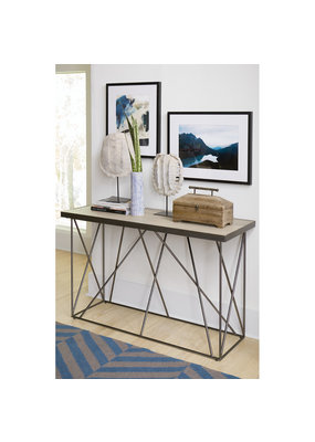 Hammary Rafters Sofa Table