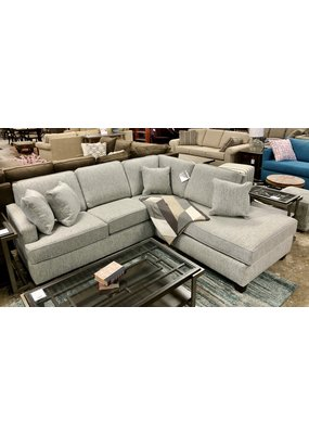 Elliott Small Sectional in Sonic sky