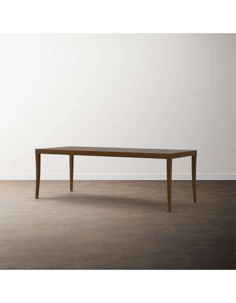 "Bassett Modern (Caramel Brown) 90"" Catania Dining Table (4695-3890)"