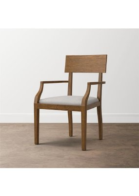 Modern (Caramel Brown) Irvington Arm Chair