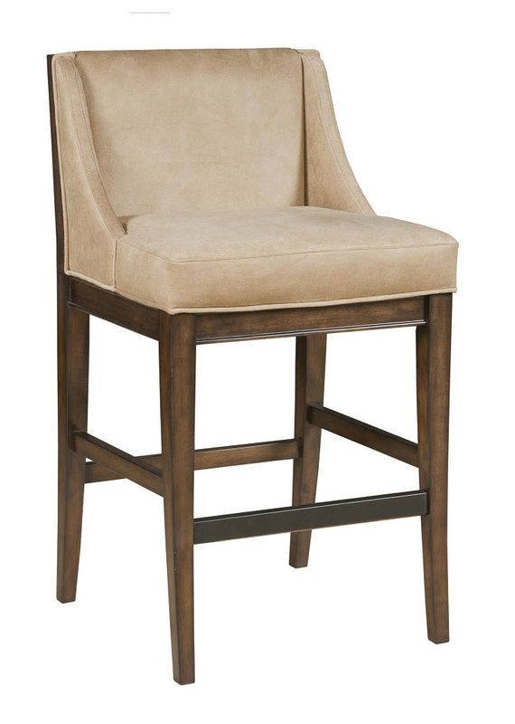 Hammary Hidden Treasures Upholstered Barstool