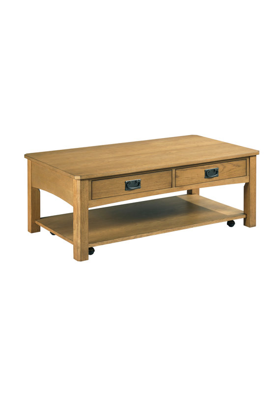 Hammary Scottsdale Rectangular Cocktail Table
