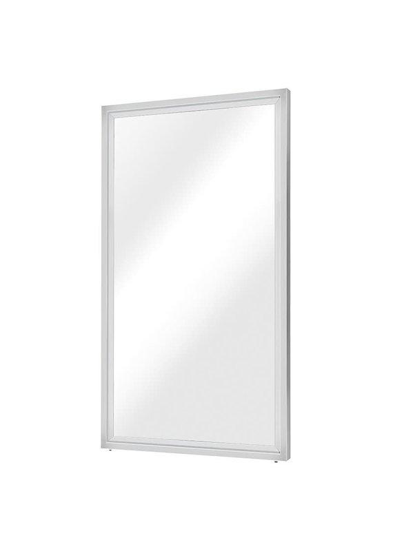 Nuevo Glam Floor Mirror in Silver